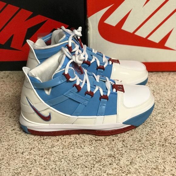 Nike Zoom Lebron 3 Houston Oilers